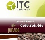 ITC Packaging, perteneciente a IbiLonjaVirtual, revoluciona los envases de Café Jurado: consigue un 64% menos de peso y mayor resistencia al impacto