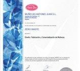 MUÑECAS ANTONIO JUAN posee el primer certificado Zero Waste de su sector