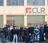 Los alumnos de mecanizado del IES La Foia visitan las instalaciones de la empresa CLR