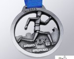 La empresa Todo Trofeo diseña y fabrica la medalla para la competición 10Km Villa del Juguete