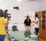 Las cámaras de Canal Nou visitan de nuevo IBI, en este caso la empresa ITC