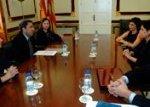 Presentación de Ibi, Espíritu Emprendedor a la Generalitat