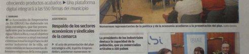 """El Diario Información se hace eco de la noticia """"Ibi, Espíritu Emprendedor"""""""