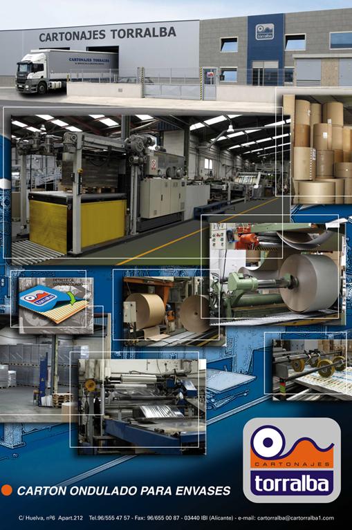 Cartonajes Torralba, fabricación cajas de cartón