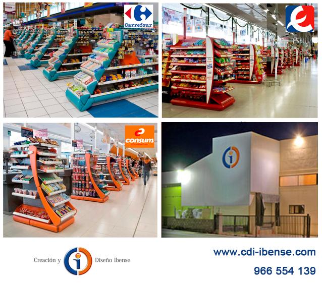 CDI fabrica expositores para supermercados
