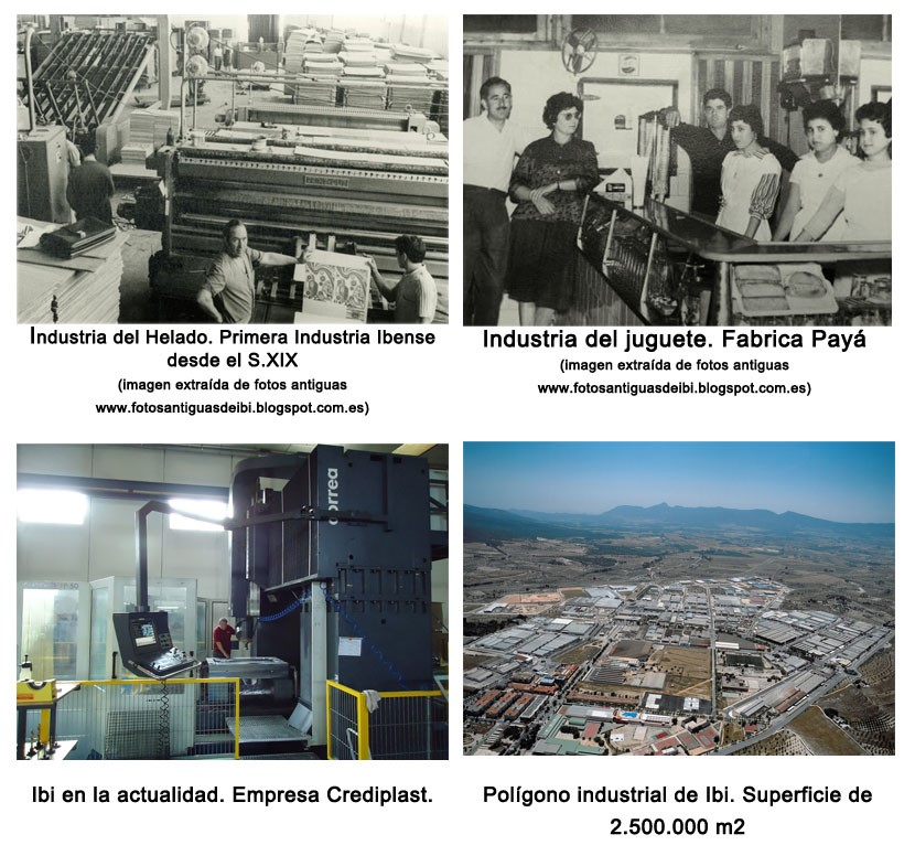 Historia Inyección de Plástico en Ibi