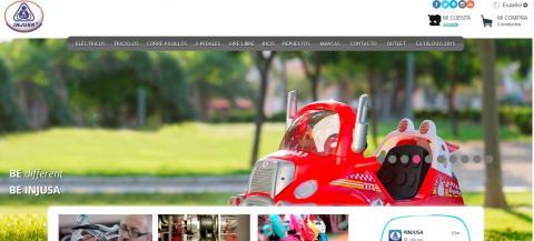 Captura de imagen de la tienda online de INJUSA